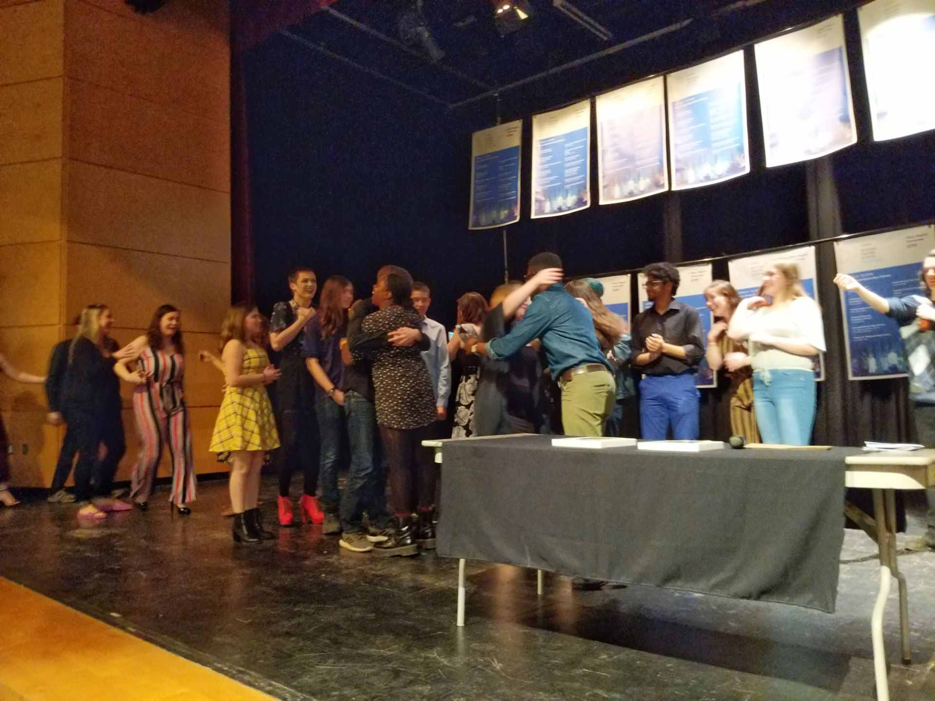 Drama Club wins 4 awards at NTS Festival – Moves to the Provincial Level