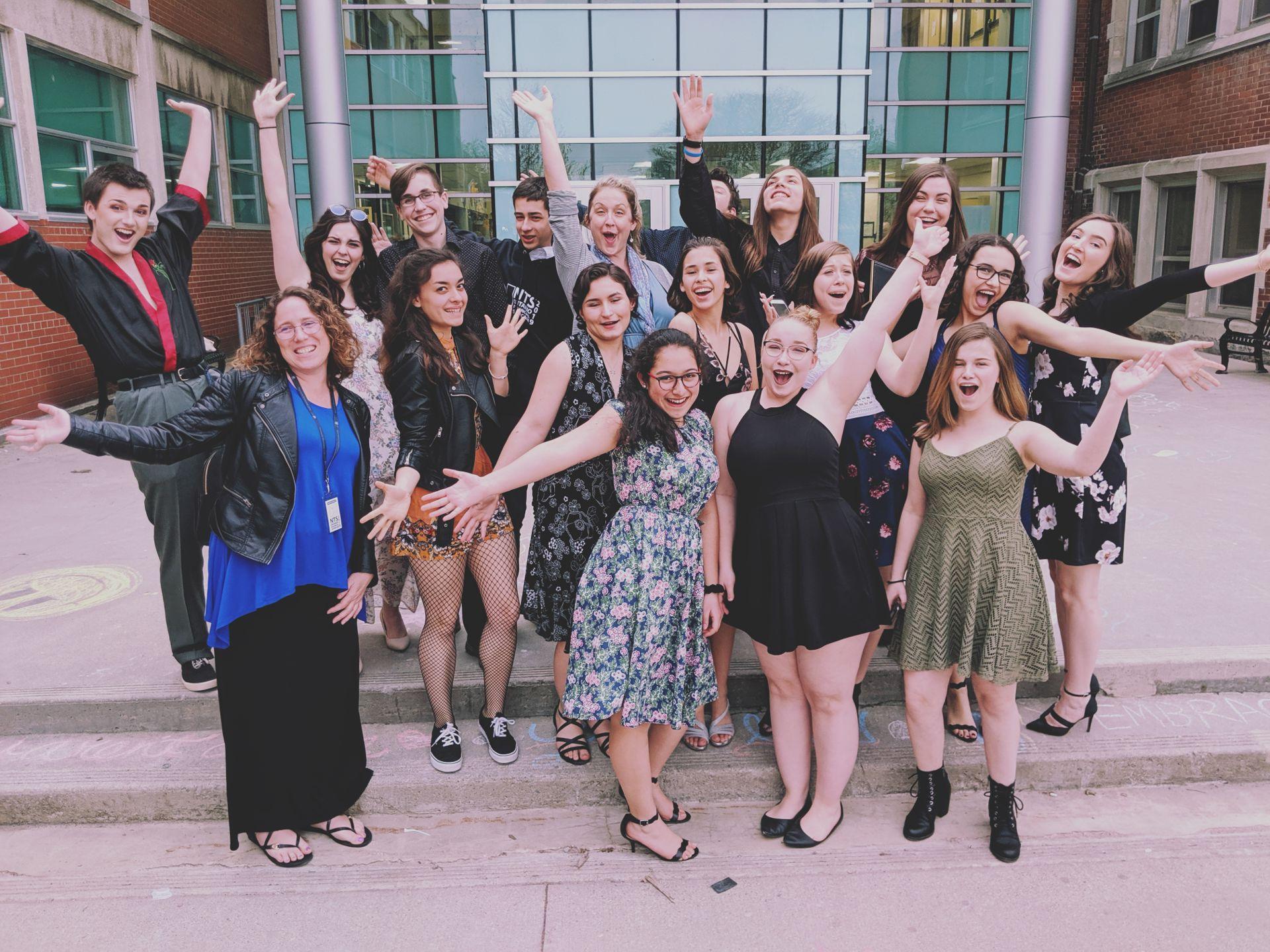 Drama Club wins more awards at NTS Provincial Showcase